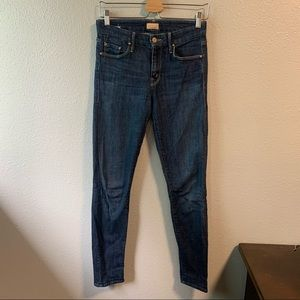 MOTHER The Looker Jeans in Clean Sweep